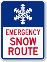 Emergency Snow Route Information
