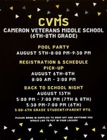 CVMS 2019-2020 Summer Fun