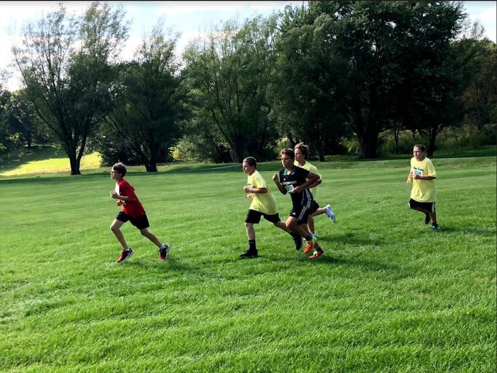 Cameron Dragons CVMS CC Running