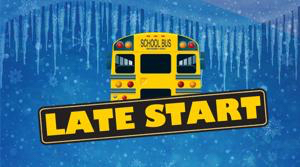 Two-hour late start on Thursday, January 31st.