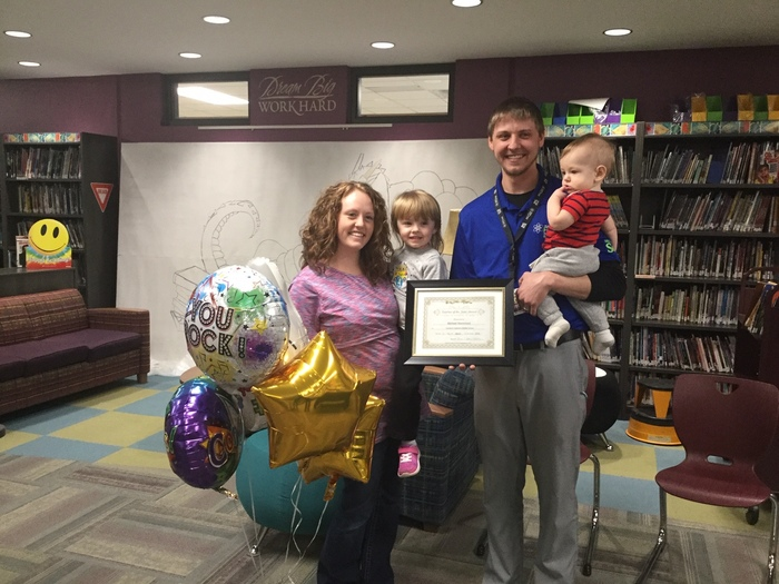 Teacher of the Year Wernimont