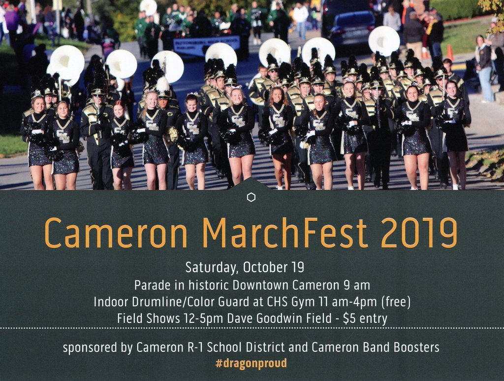 Cameron MarchFest October 19
