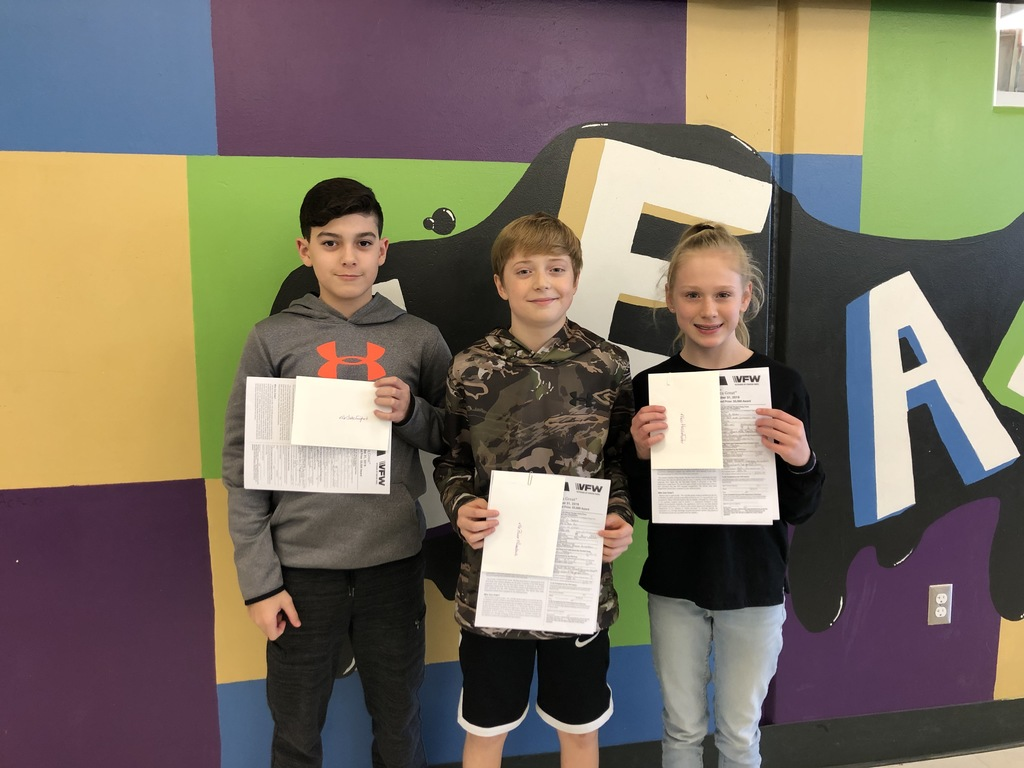 Patriot Pen Finalists