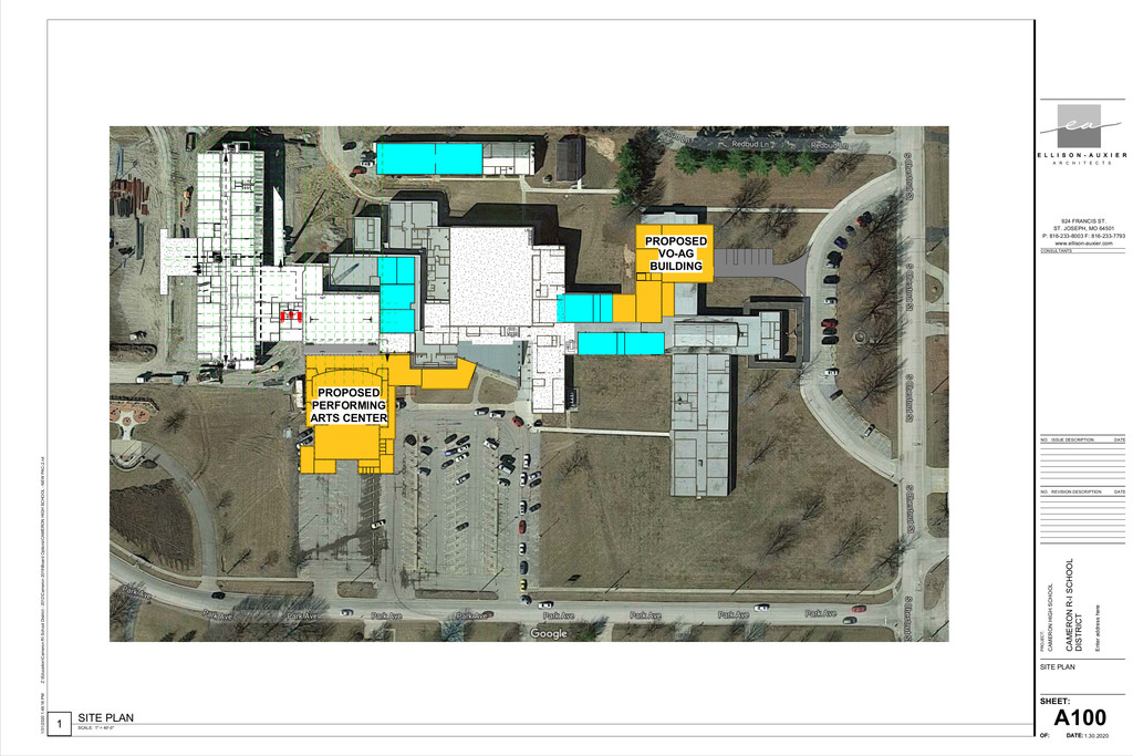 Cameron High School Plans