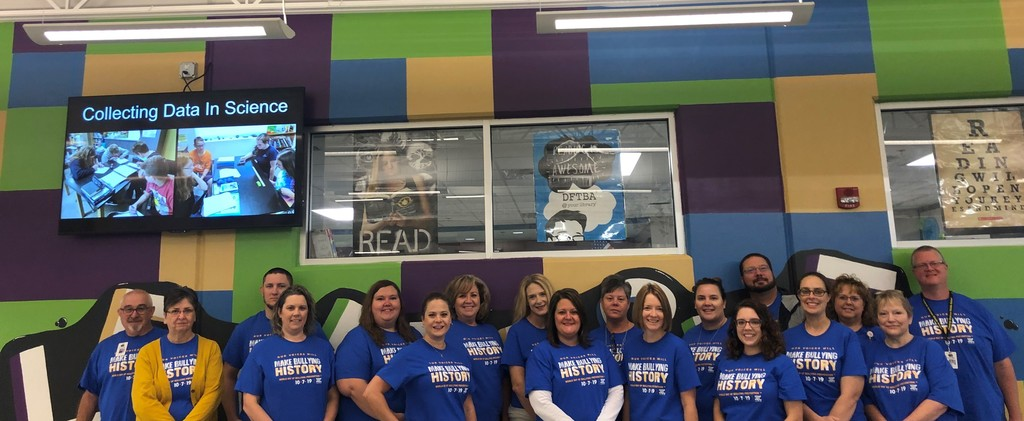 Blue Shirt Day Oct. 2019