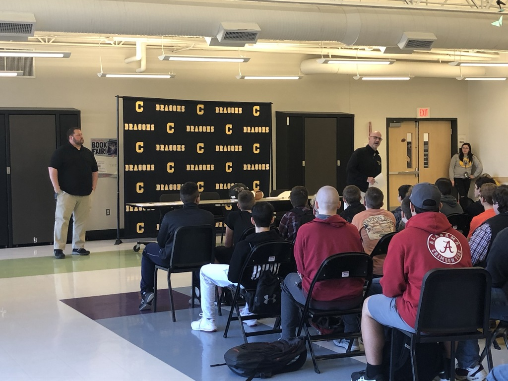 8th Grade Football Signing March 2020